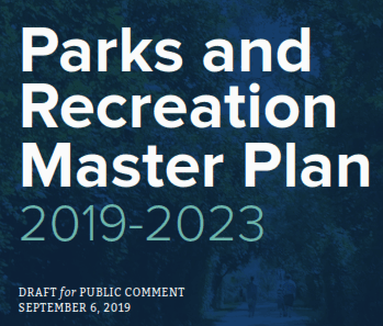 Parks and Rec 2019-2023 Master Plan