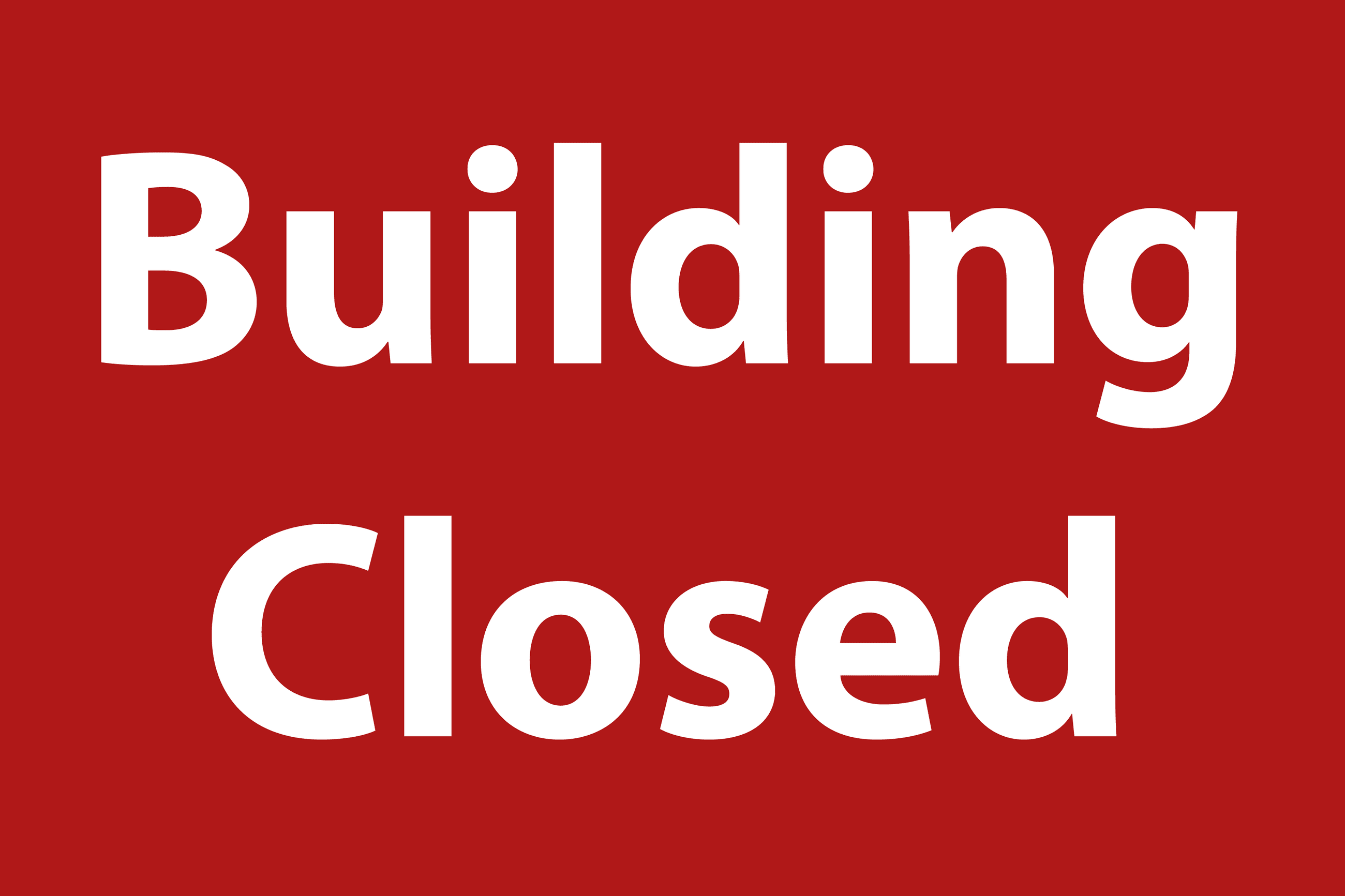 Buildings-Closed